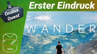 Oculus Quest - Wander: Streetview in Virtual Reality! (deutsch) Review / Test / Frist Impression