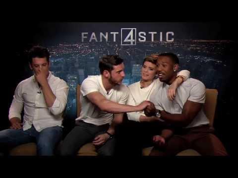 FANTASTIC FOUR Interviews: Miles Teller, Kate Mara, Michael B Jordan, Jamie Bell, Toby Kebbell