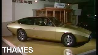 Earls Court Motor Show | Vintage Cars | Niche Cars | Drive In | 1978