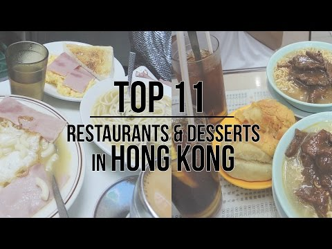 TOP 11 THINGS TO EAT IN HONG KONG | Budget friendly