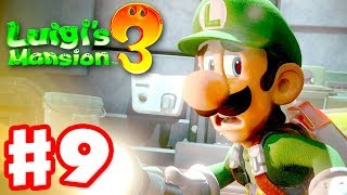 Luigi's Mansion 3 - Gameplay Walkthrough Part 9 - Dinosaur Attack! (Nintendo Switch)