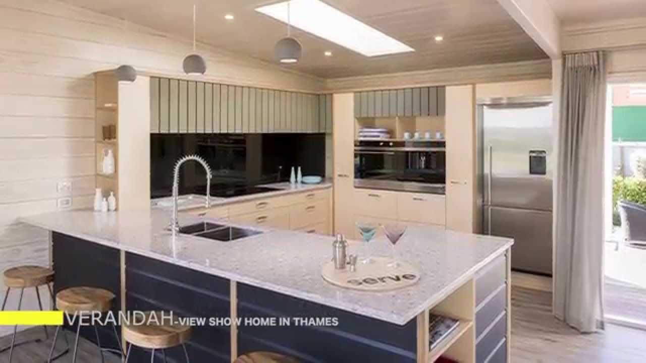 Lockwood Verandah Show Home in Thames Coromandel - YouTube