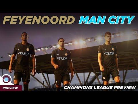 Feyenoord vs Man City Champions League Preview   Yaya Toure Dropped?