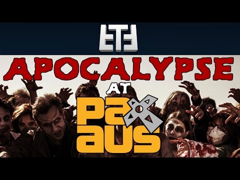 """""""Zombie Apocalypse at PAX AUS"""" - Tabletop RPG Campaign Session Gameplay"""