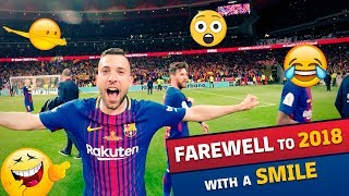SMILES & FUN l Barça's best moments of 2018