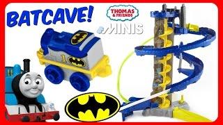 Thomas & Friends MINIS BATCAVE Train Set SuperHeroes Toys Batman Train Thomas Dress Up As BATMAN