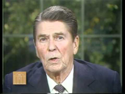 President Reagan's Speech to the Nation on Lebanon and Grenada, October 27, 1983