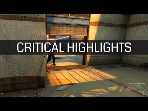Jogador de CS:GO acerta headshot hilário de smoke no adversário - Critical Highlights