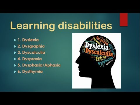 Learning disabilities , सीखने के विकार , dsssb psychology , ctet cd , reet psychology
