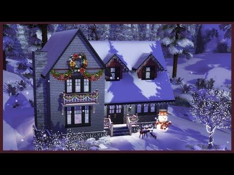 Weihnachtsessen Zu Zweit.Sims 4 Hausbauvideo Ferienhaus Die Ersten Weihnachten Zu Zweit