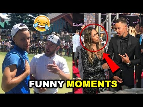 Thumbnail: NEW Stephen Curry FUNNY MOMENTS 2017
