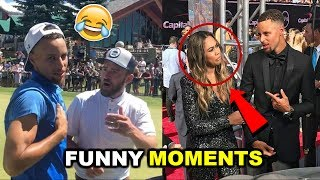 NEW Stephen Curry FUNNY MOMENTS 2017