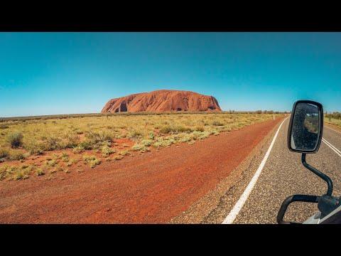 Road Trip In The Australian Desert (HD)