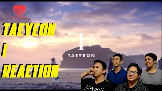 "[4LadsReact] TAEYEON (태연) ft. Verbal Jint - ""I"" MV Reaction thumbnail"