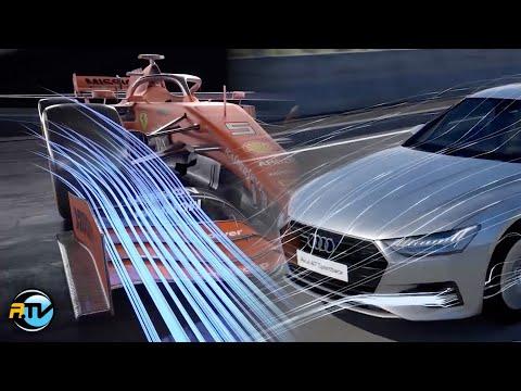 Cómo trabaja la Aerodinámica Fórmula 1 y autos PREMIUM.