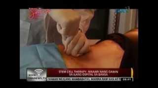 24 Oras:   Stem cell therapy, maaari nang gawin sa ilang ospital sa bansa