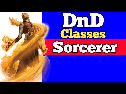 Sorcerer DnD 5e PHB Classes Mini-series! DnDaily #162 D&D and RPG