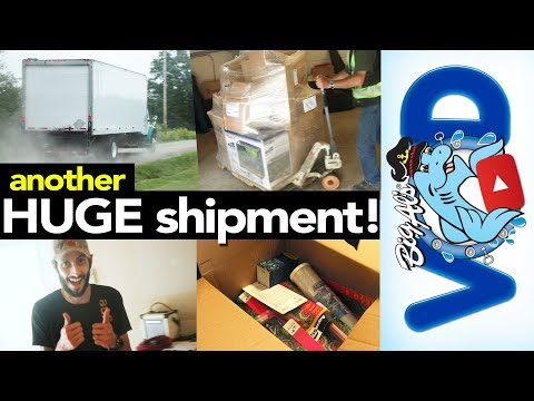 Another HUGE Shipment Of Aquarium Supplies! | BigAlsPets.com