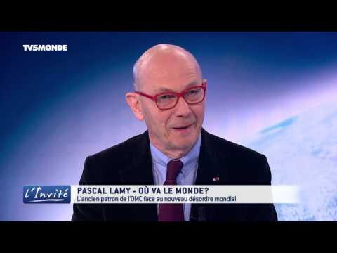 "Pascal Lamy : ""Où va le monde?"""