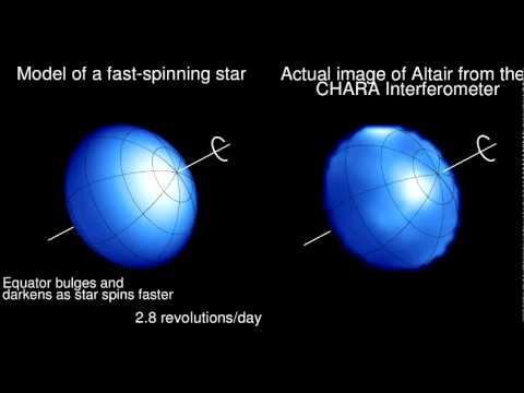 Imaging The Surface Of Altair (2007.05.31)
