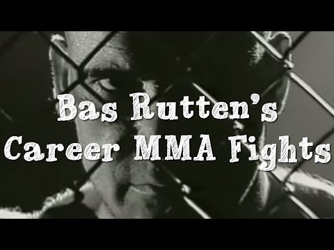 Bas Rutten's Career MMA Fights Introduction