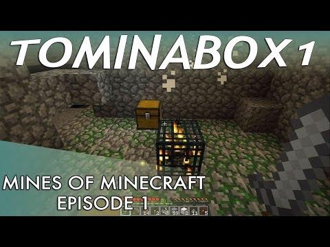 Mines of Minecraft: tominabox solo LP - Episode 1