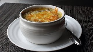 Broccoli Soup Au Gratin - Cheesy Broccoli Sou...