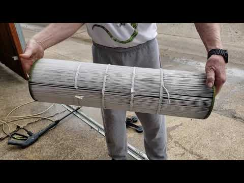 DIY Pool filter Cleaning 101