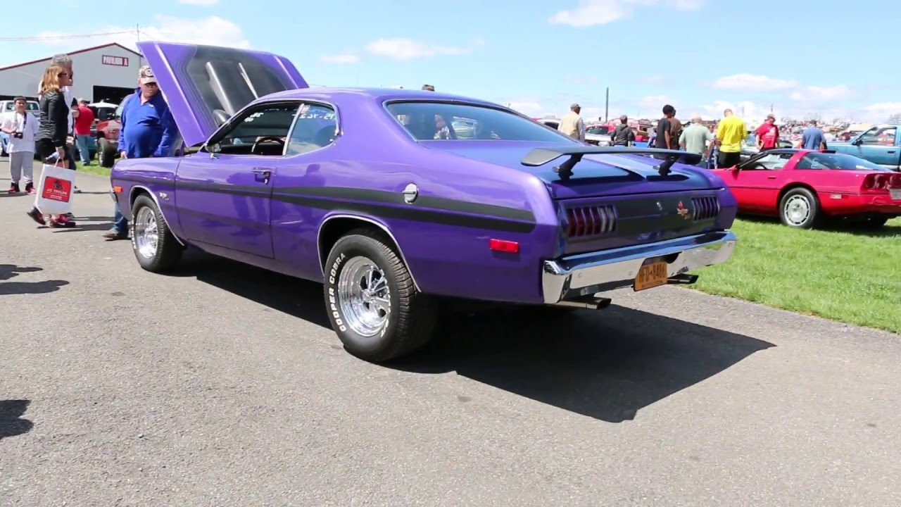 1972 dodge demon h code 340 for sale~fresh restoration~factory a c~p