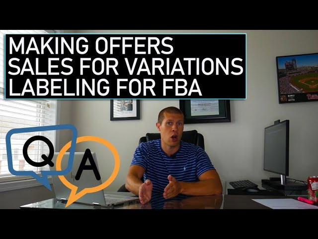 Reselling and Online Arbitrage F.A.Q.s [making offers, labeling products, variations]