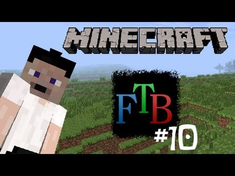 "Minecraft: Feed The Beast - Ep10 ""Building Supplies"""