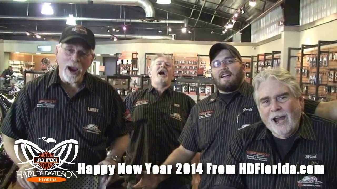 harley davidson florida happy new year 2014 youtube