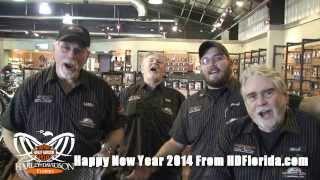 Harley Davidson Florida - Happy New Year 2014!