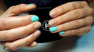 Дизайн ногтей гель-лак shellac - Французский маникюр (видео уроки дизайна ногтей)