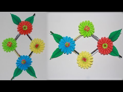 Diy Simple Home Decor Wall Hanging Flower Bedroom Decoration Ideas