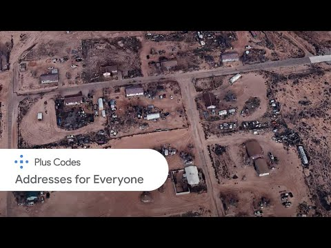 Plus Codes: Addresses for Everyone