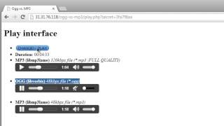 Comparison OGG[Vorbis] vs. MP3 with web interface by buri.sk [HD]