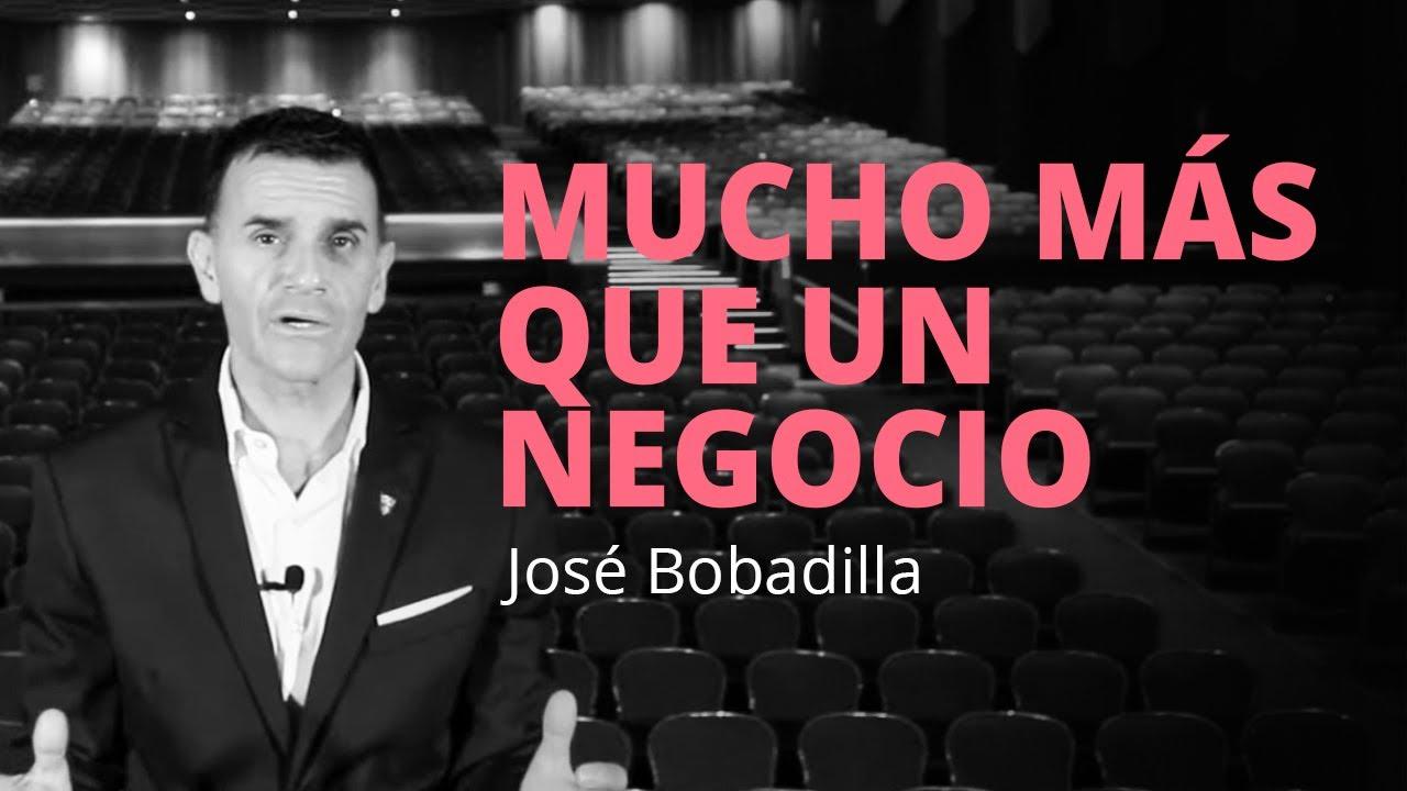 ESTAN CONSTRUYENDO UN SUEÑO, NO SÓLO UN NEGOCIO - José Bobadilla