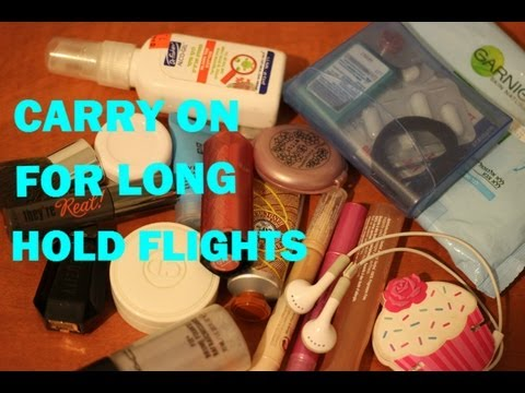Carry On For Long Hold Flights | Things I Bring on a Carry On Bag | My Carryall Bag Essentials