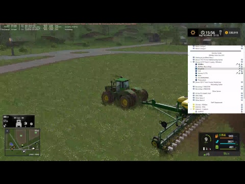 RDAllen Live FS17 MP God's Country More New Equipment 07 15 17