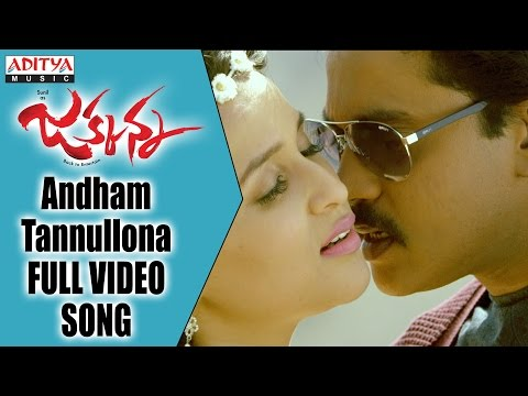 Andham Tannullona Full Video Song | Jakkanna Full Video Songs || Sunil, Mannara Chopra, Dinesh
