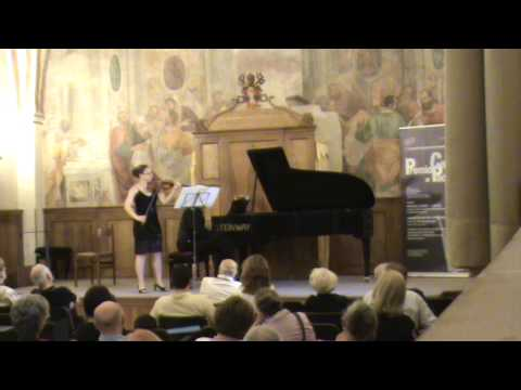 Brahms Sonata for Piano and Violin in G Op.78 - Vivace ma non troppo