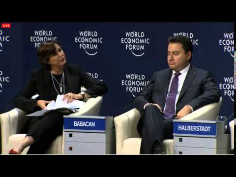 Majid Jafar addressing Plenary session of World Economic Forum Istanbul