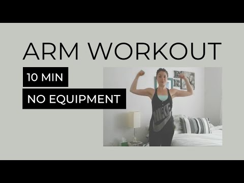 10Minute Arm Workout No Weights Required