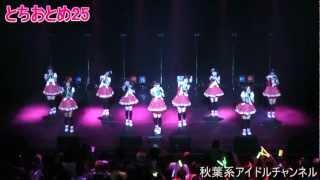 11月18日@渋谷AX「第3回アイドル横丁祭!!」 とちおとめ25 http://tochio...