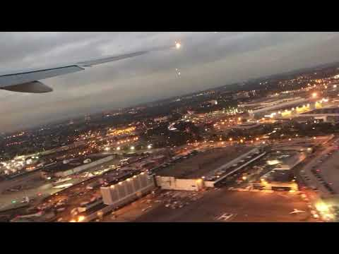 American Airlines AA100 JFK to LHR Take Off 14th Oct 2017