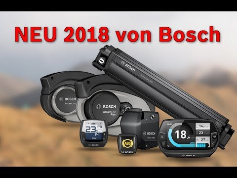 vorgestellt ebike neuheiten 2018 von bosch youtube. Black Bedroom Furniture Sets. Home Design Ideas