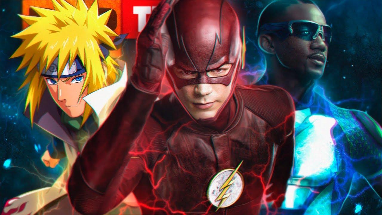 Rap: Então Eu Corro (Flash, Minato, Trem-Bala...) // Mais Rápido Que o Flash // TK RAPS