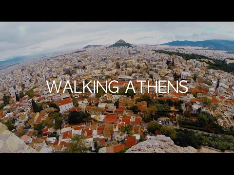 Greece. Walking Athens. #TBEXAthens
