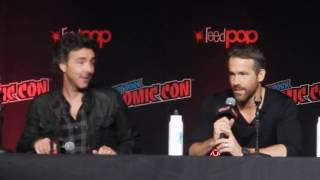Highlights of Ryan Reynolds visit to NYCC panel: Free Guy - Part 5